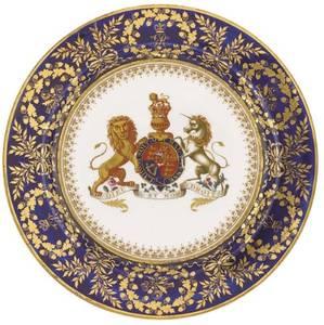 Bilde av George III Tinntallerken
